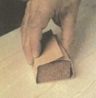 шлифовка дерева шкурка