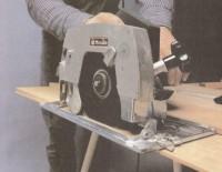 Как работать ручной циркулярной пилой