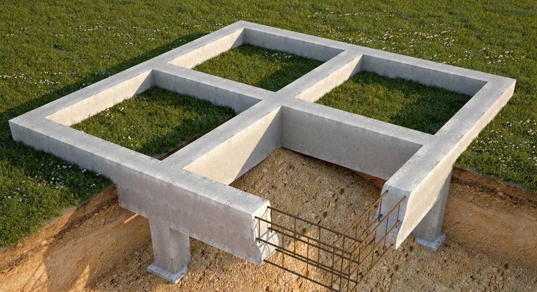 строительство с фундамента