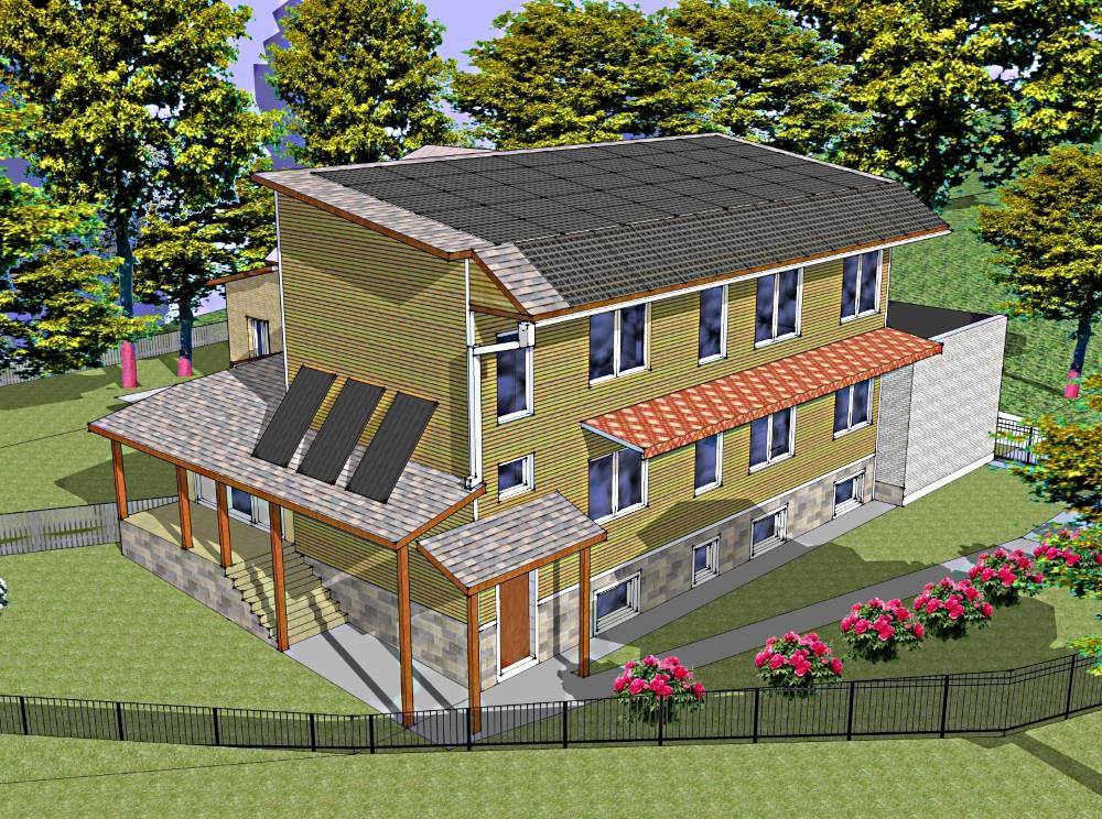 Строительство дома с постоянной ценностью