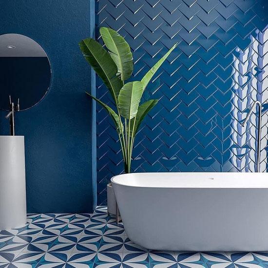 облицовочная плитка в ванной